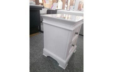 Clearance - Brighton 2 Drawer Bedside Table