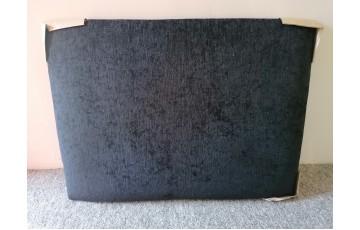 Clearance - 2'6'' Regent Strutted Headboard - Maurice Black
