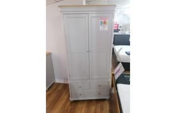 Clearance - Mila 2 Door 3 Drawer Wardrobe