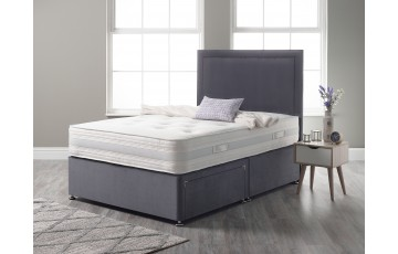Cashmere Pocket 2000 Pocket Sprung 4ft6 Double Divan Set