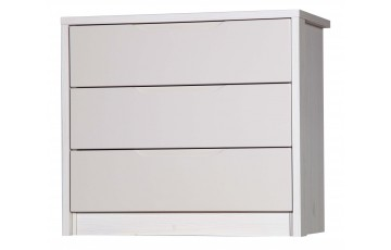 Aston High Gloss 3 Drawer Chest - Multiple Colour Options