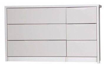 Aston High Gloss 3 Drawer Double - Multiple Colour Options
