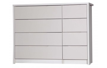 Aston High Gloss 4 Drawer Double - Multiple Colour Options