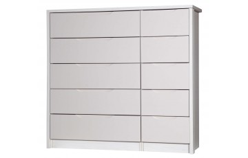 Aston High Gloss 5 Drawer Double - Multiple Colour Options