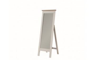 Henley Painted Solid Oak Cheval Mirror