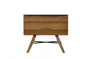 Rushton Solid Oak 1 Drawer Bedside