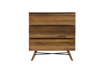Rushton Solid Oak 3 Drawer Chest