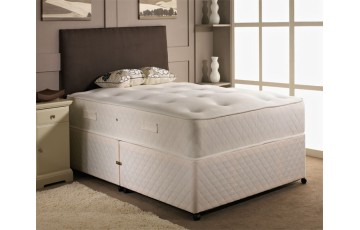 Balmoral Open Coil Sprung 5ft King Size Divan Set