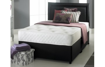 Solo Memory Foam 5ft King Size Divan Set