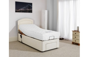 Furmanac Mibed Baroque 4ft6 Electrically Adjustable Bed