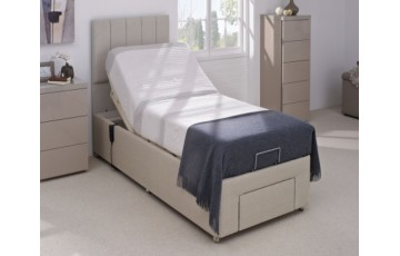 Furmanac Mibed Cool Gel 6ft (2 x 3ft linked) Electrically Adjustable Bed