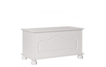 Stockholm Blanket Box in White