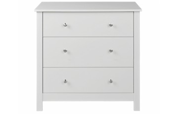 Florence 3 Drawer Chest in White