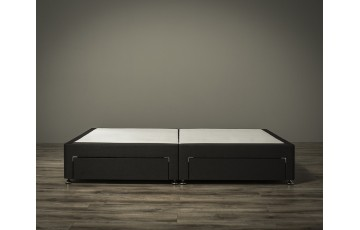 Jupiter Divan Bed Base Only - 5ft King Size - Any Colour