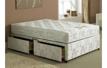 Hercules 1000 Pocket Sprung 4ft6 Double Divan Set