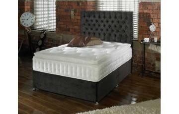 Kensington 3000 5ft Pocket Sprung Pillow Top Divan Set