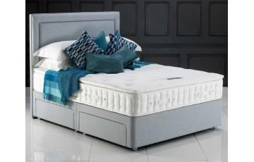 Kensington 5000 4ft6 Pocket Sprung Pillow Top Divan Set