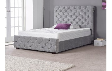 Hamlet Upholstered 3' Single Bed Frame