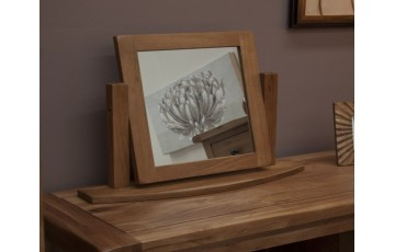 Chicago Solid Oak Dressing Table Mirror