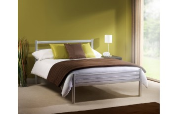 COMBO DEAL - Aston Metal 4ft6 Bed Frame - Choice of mattress