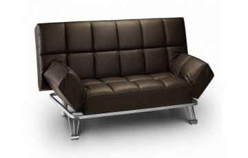 Michigan Faux Leather Sofa Bed