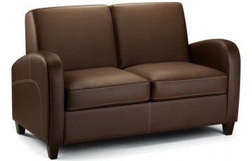 Vista Faux Leather Sofa Bed