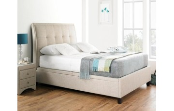 Accent 6ft Upholstered Ottoman Bed Frame