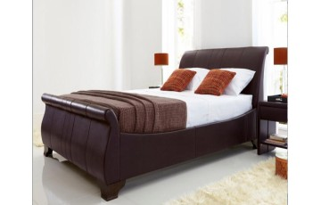 Bamburgh 6ft Real Leather Bed Frame