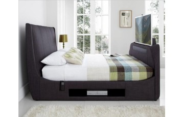 Sommer 5ft Upholstered TV Bed Frame