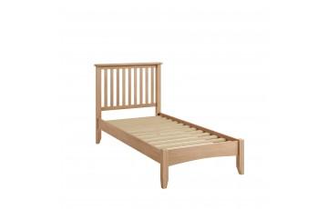 Gianno Oak 3ft Single Bedframe