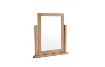 Gianno Oak Trinket Mirror