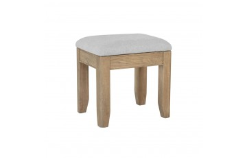 Hamilton Oak Dressing Table Stool