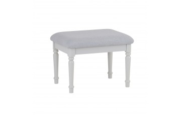 Mila Oak Painted Dressing Table Stool