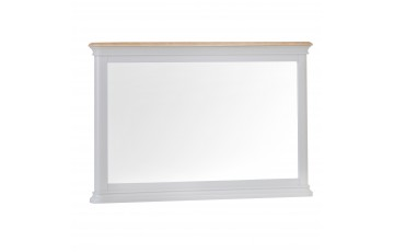 Mila Oak Painted Wall Mirror