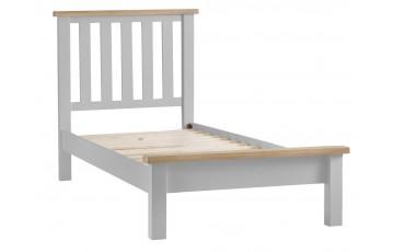 Trieste Grey Oak Painted 3ft Single Bed Frame
