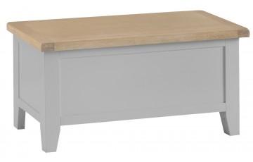 Trieste Grey Oak Painted Blanket Box