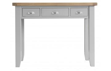 Trieste Grey Oak Painted 3 Drawer Dressing Table