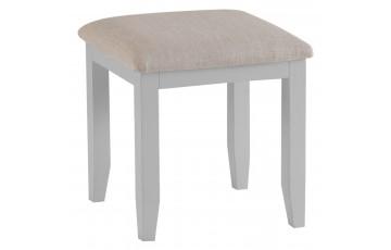Trieste Grey Oak Painted Dressing Table Stool