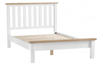 Trieste Oak Painted 5ft King Size Bed Frame