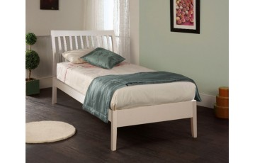 Amy 3ft White Bed Frame