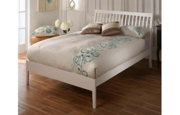 Amy 5ft White Bed Frame