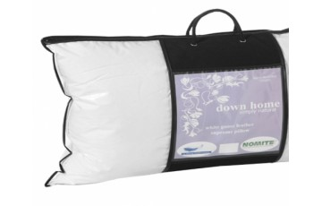White Goose Feather Supreme Pillow
