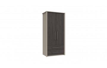 Bari 2 Door 2 Drawer Combi Robe