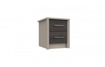 Bari 2 Drawer Bedside Cabinet