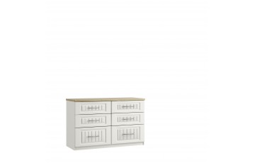 Plaza 6 Drawer Twin Chest