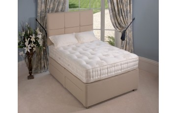 Relyon 4ft Winchester Pocket Sprung Divan set - with 2 Free Drawers