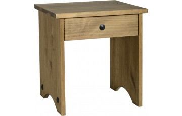 Mexican Deluxe Reclaimed Pine Dressing Table Stool