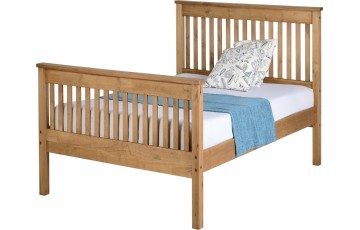 Marble High Foot-end 3ft Bed Frame