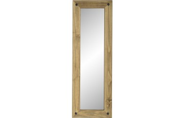 Mexican Deluxe Reclaimed Pine Long Wall Mirror