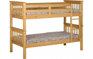 3ft Nebula Kids Bunk Bed - Pine